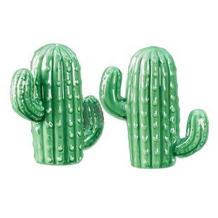 Larisa Cactus Salt & Pepper Shaker Set