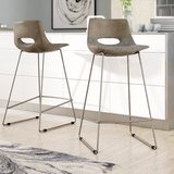 Erwin Bar & Counter Stool (Set of 2) by Brayden Studio®