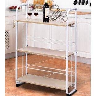3 Tier Folding Serving Cart By Symple Stuff