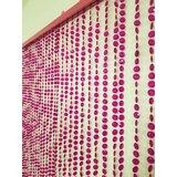 Door Diamond Cut Beads Solid Semi-Sheer Thermal Curtains/Drapes