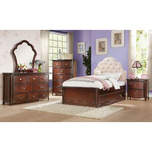 Shetty Padded Headboard Twin Mate's & Captain's Bed