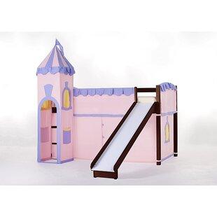 Summer Princess Loft with Slide by Viv + Rae