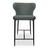 Nolen Quilted 27 Bar Stool by Ivy Bronx