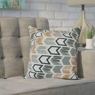 Waller Arrow Geometric Outdoor Throw Pillow