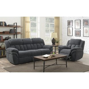 Kimmel Reclining 2 Piece Living Room Set by Winston Porter