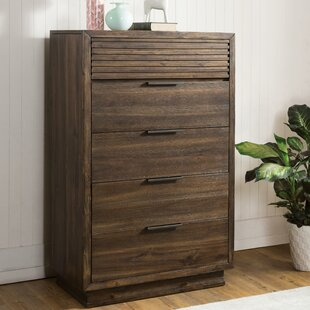 Millwood Pines Hazel 5 Drawer Chest