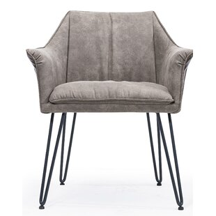 Olevia Metal Armchair by Williston Forge