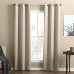 Wayfair Basics Solid Blackout Grommet Single Curtain Panel