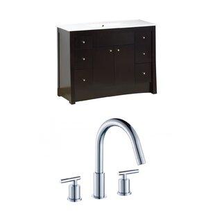 Review Elite 48 Single Bathroom Vanity Set by American Imaginations