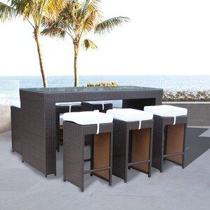 Dutil Modern 7 Piece Pub Table Set by Bra..
