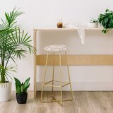 Monika Strigel Boho Summer 28 Bar Stool by East Urban Home