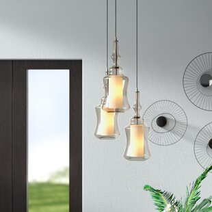 Cabell Triangle Pan 3-Light Pendant by Brayden Studio