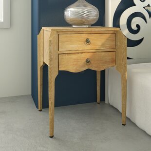 Jazmyn End Table by Alcott Hill