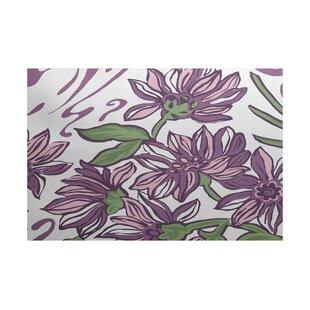 Neville Purple Indoor/Outdoor Area Rug By Zipcode Design