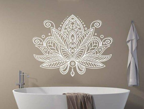 Bungalow Rose Estrella Lotus Flower Mandala Wall Decal Reviews