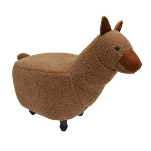 Hockman Lama Kids Animal and Ottoman by Zoomie Kids
