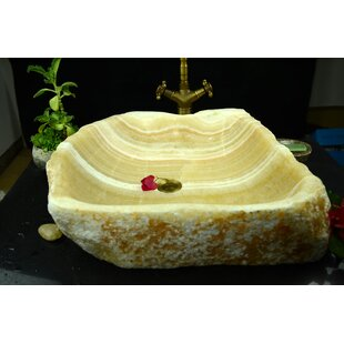 Savings Aurora Stone Specialty Vessel Bathroom Sink ByY Decor
