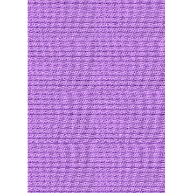 East Urban Home Striped Wool Purple Area Rug Wayfair