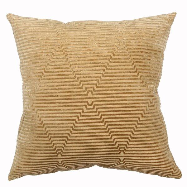 Feather Geometric Throw Pillow Perigold