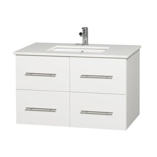 Online Reviews Centra 36 Single Bathroom Vanity Set ByWyndham Collection