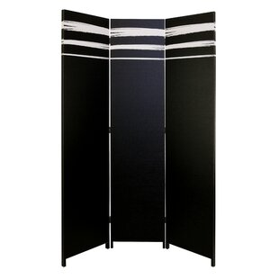 Mayna 3 Panel Room Divider by Wrought Studio