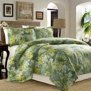 Tommy Bahama Home Cuba Cabana 3 Piece Reversible Duvet Set Tommy Bahama Be..