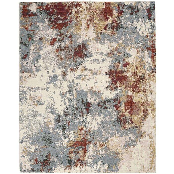 Wly Loom Woven Cotton Slate Rug