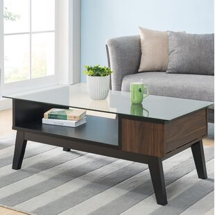 Find a Normandie Coffee Table with Storage by George Oliver Reviews (2019) & Buyer's Guide