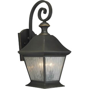 Degory 3-Light Outdoor Wall Lantern by Charlton Home