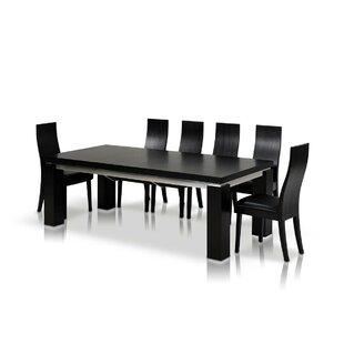 Orren Ellis Clower Black Extendable Dinin..