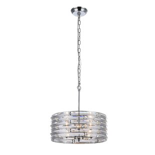 House of Hampton Westlund 3-Light Drum Pendant
