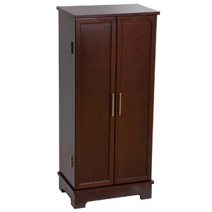 Boysen Jewelry Armoire with Mirror