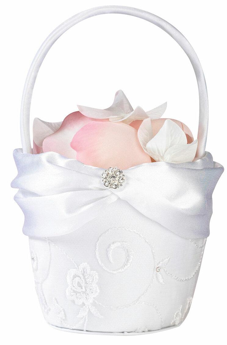 Lillian Rose Lace Flower Girl Basket Wayfair