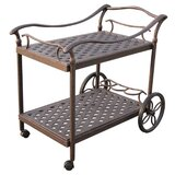 Camargo Bar Serving Cart