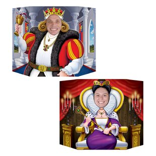 King and Queen Photo Prop