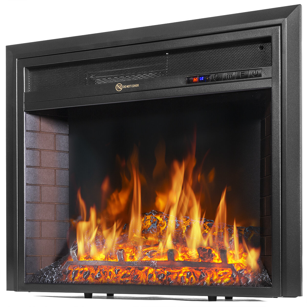 Stonover 20.20'' W Electric Fireplace Insert