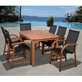 Trombetta International Home Outdoor 7 Piece Dining Set