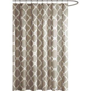 Modern Brown Shower Curtains
