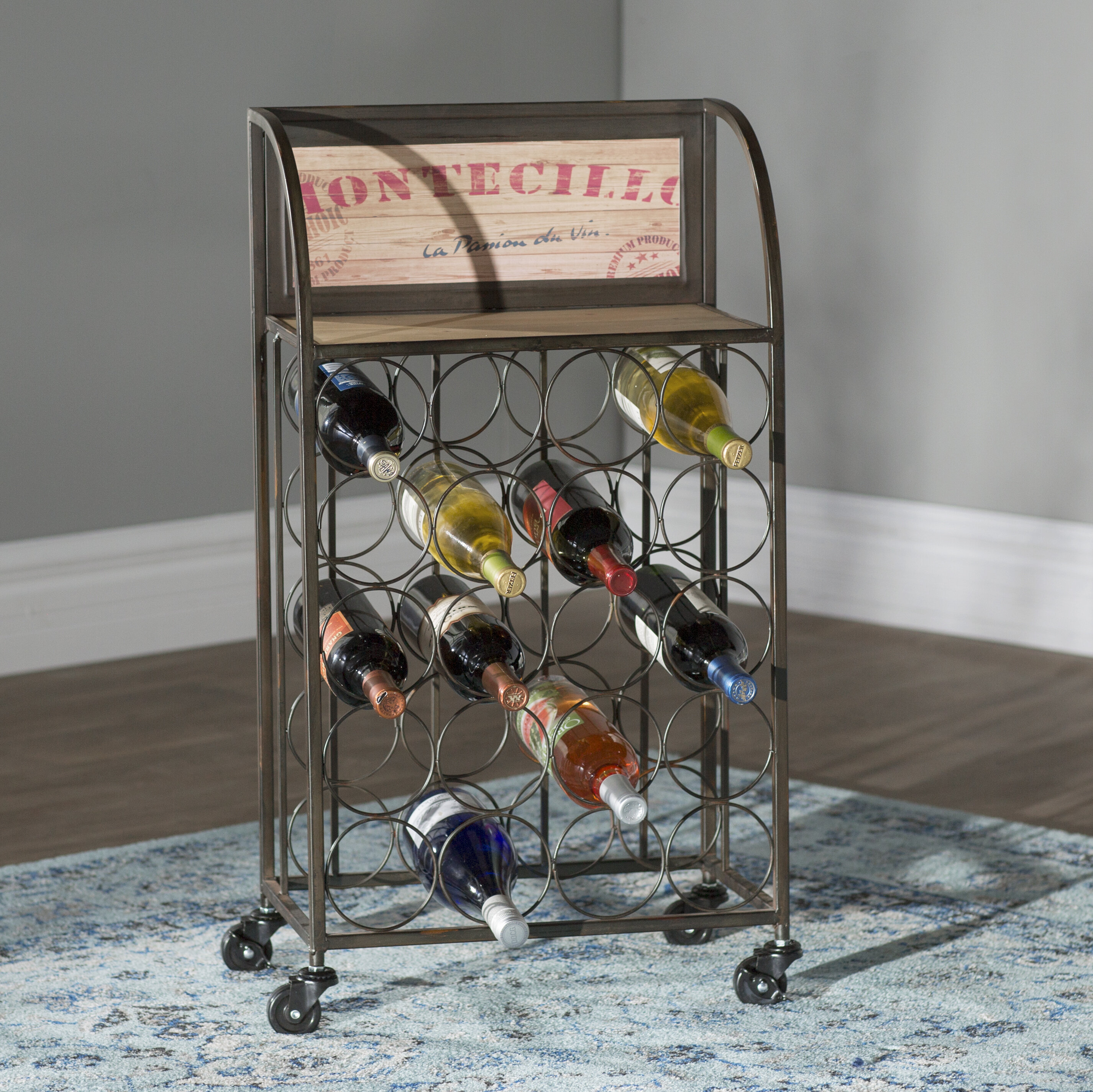 central wine small product iron top rack coast archives bottle creations racks category barrel table