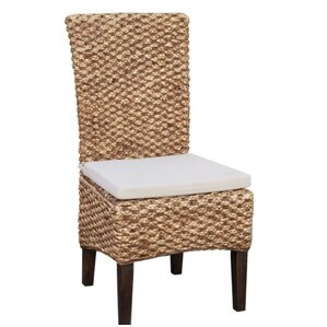 Tamayo Hand-Woven Seagrass Dining Chair (Set of 2) by Bayou Breeze
