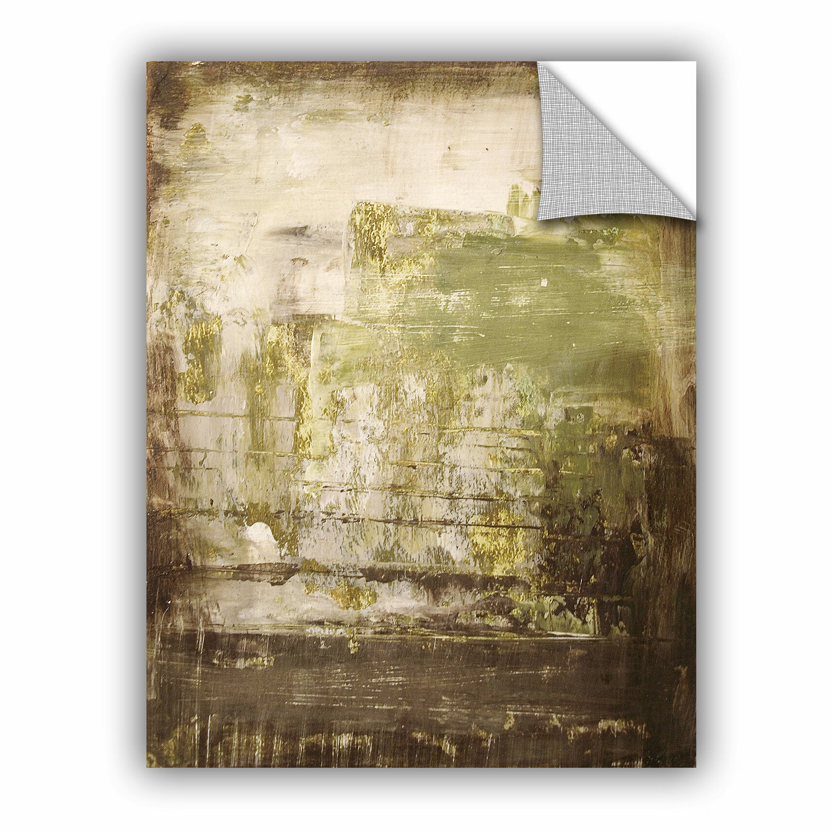 Williston Forge Mcdowell Moss Wall Decal | Wayfair