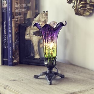 Reviews Kells Leaf Base Lily 8.25 Torchiere Lamp By Astoria Grand