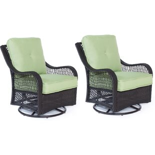 Nunda Patio Chair with Cushions (Set of 2)