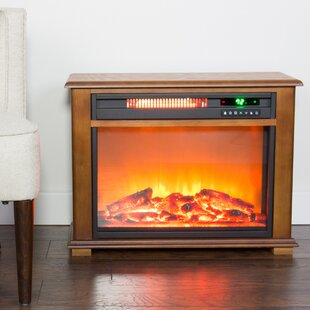 Dempsey Portable Electric Fireplace by Millwood Pines