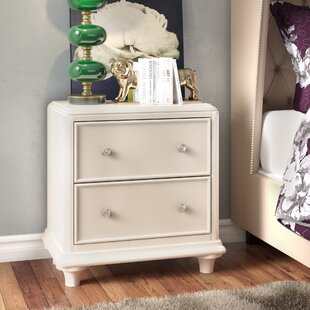 Cynthia 2 Drawer Nightstand by Viv + Rae