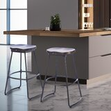 Prins Swivel Counter & Bar Stool (Set of 2) by 17 Stories