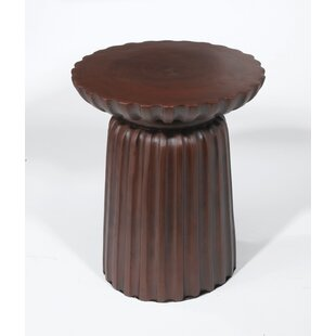Bineau Pedestal End Table