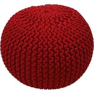 Lawrence Pouf in Red by nu..