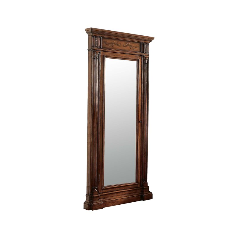 Hooker Furniture Seven Seas Wall Mounted Jewelry Armoire With Mirror Reviews Perigold