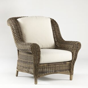 South Sea Rattan Provence Deep Seating Chair with Cushion